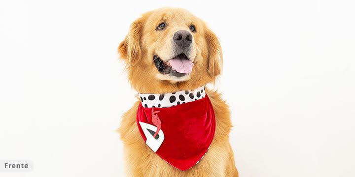 bandana para cachorro vermelha